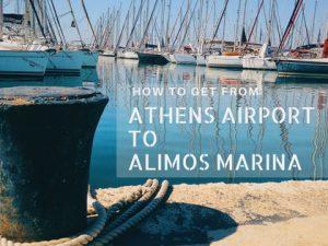 Athens Airport to Alimos Marina