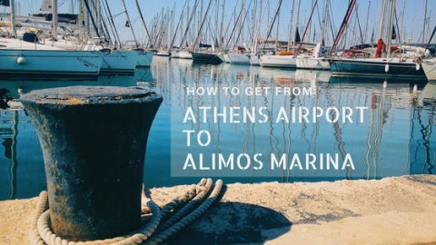 airport to Alimos marina